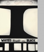 'Whites hinged on black', 1988 by Brent Harris